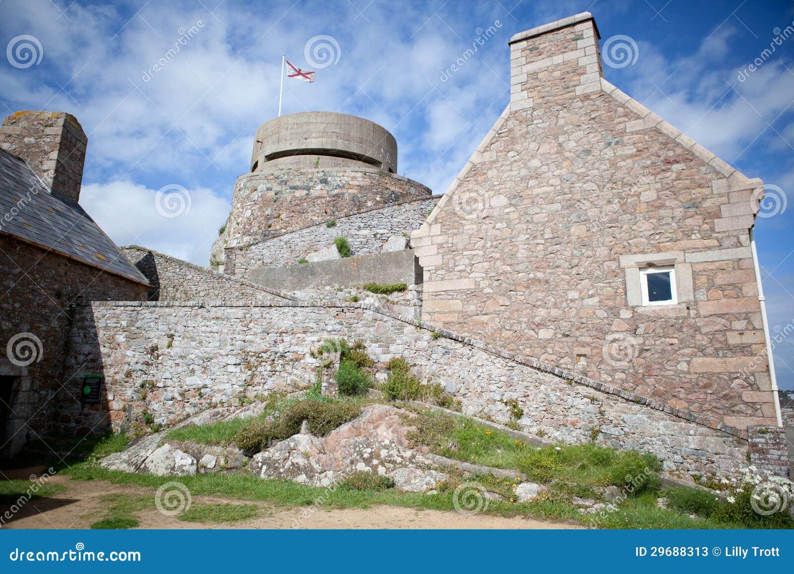 Elizabeth-Schloss, Heiliges Helier, Jersey, Kanal-Inseln