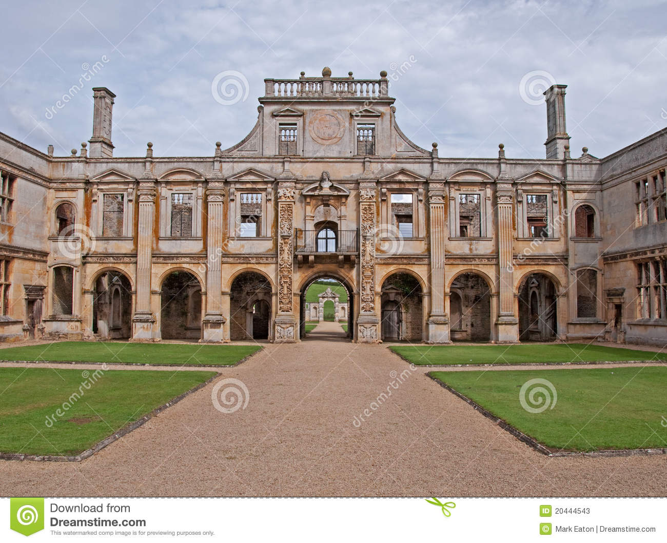Elizabethan Manor House Stock Photos - Image: 20444543