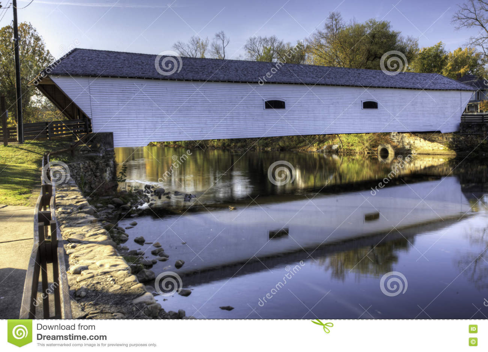 Elizabethton Covered Bridge in Tennessee