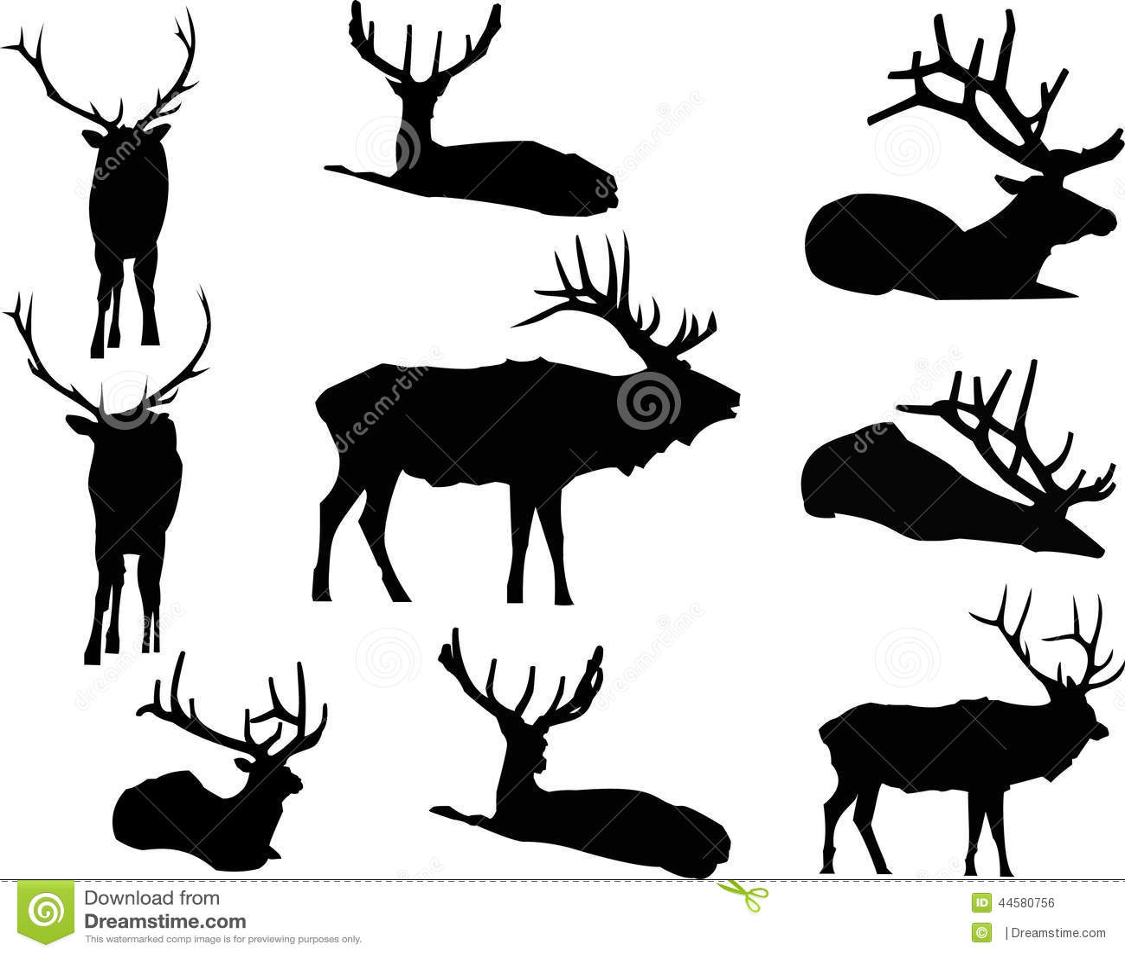 Elk Deer PNG, Clipart, Animals, Antler, Black And White, Clip Art, Deer  Free PNG Download
