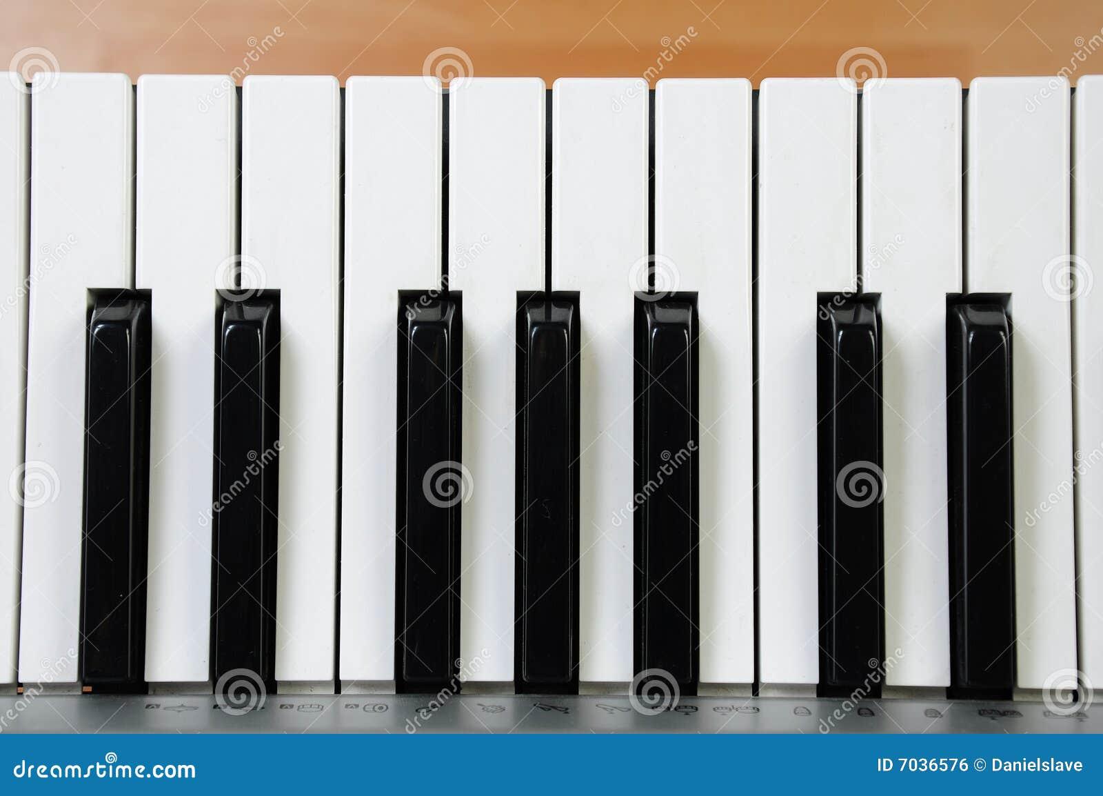 Elkraften keys pianot