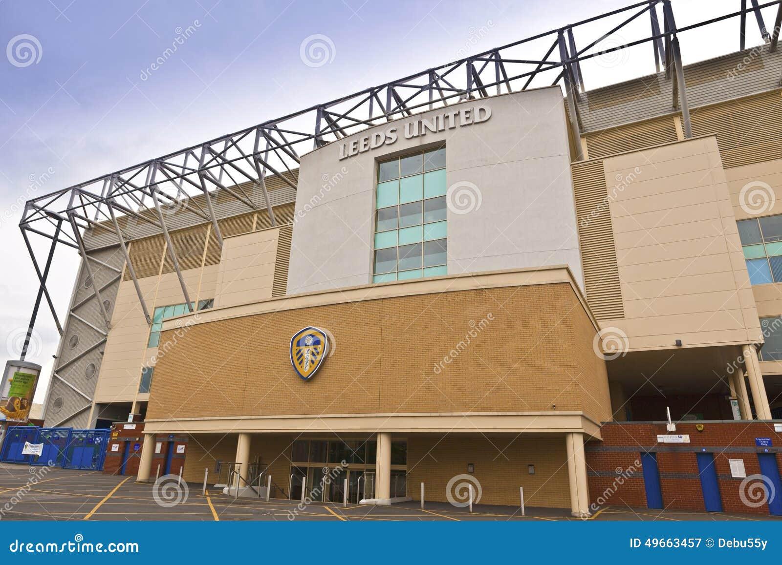 Elland Drogowy stadium w Leeds, Zachodnim - Yorkshire