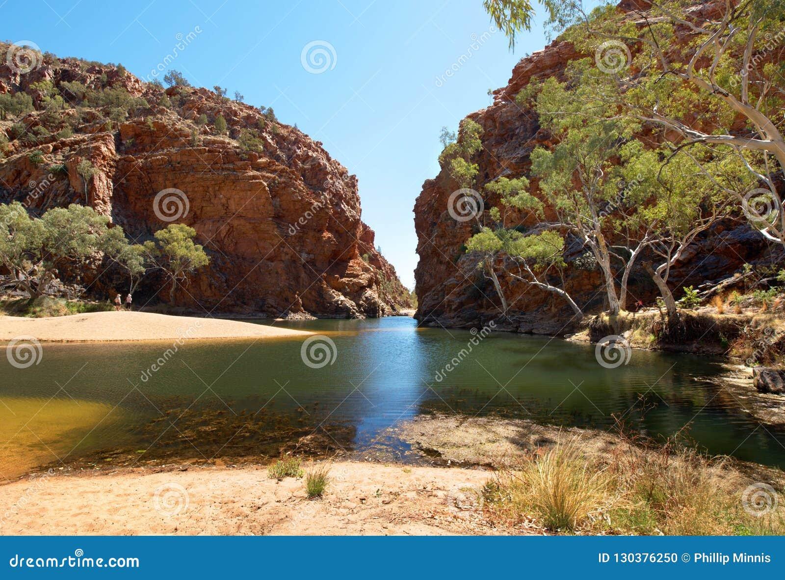 Ellery Creek Big Hole, Noordelijk Grondgebied, Australië