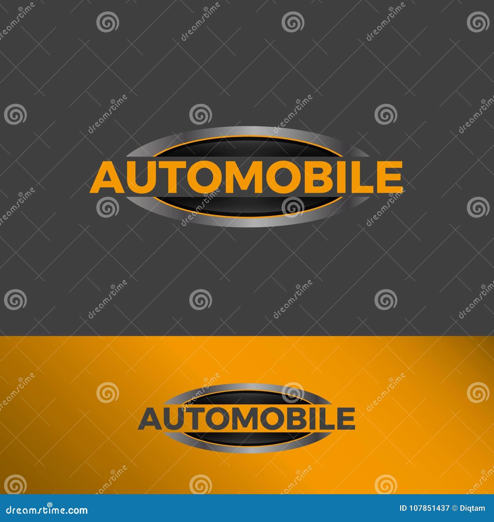 Ellipse Strong Bold logo stock vector. Illustration of automotive ...