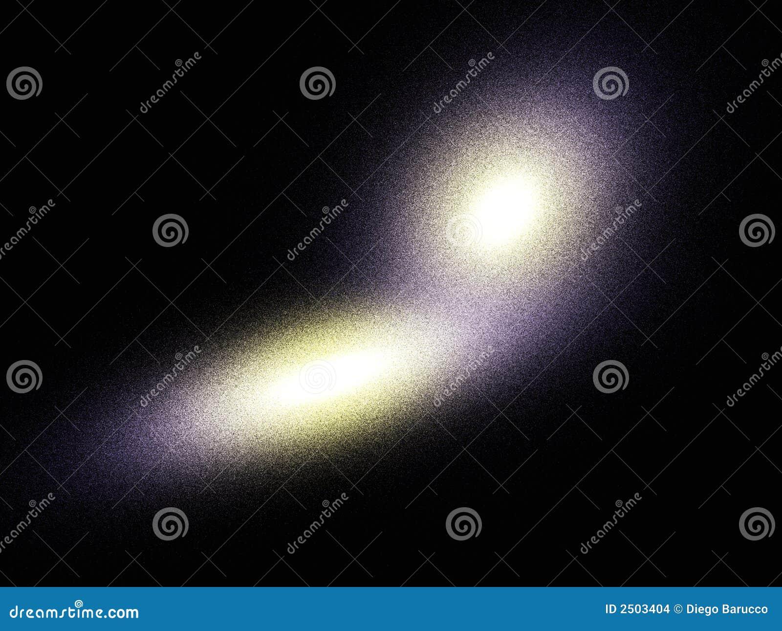 Elliptical galaxies collision