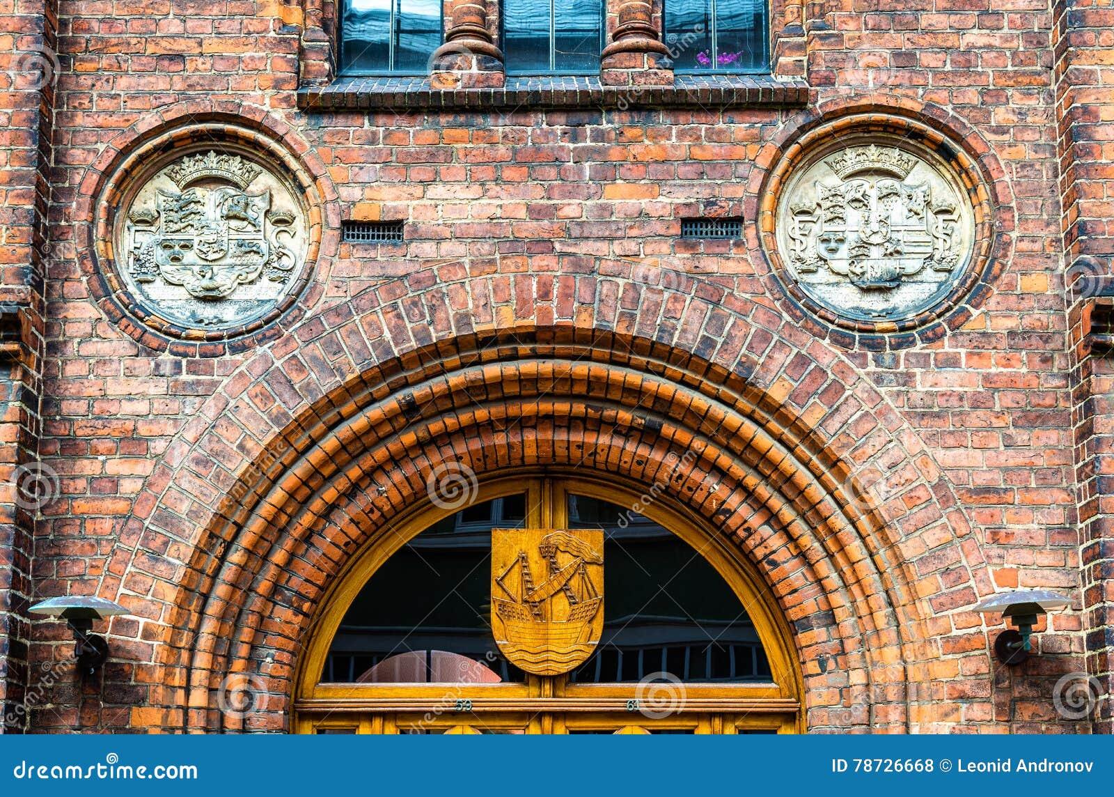 Elsinore市政厅或赫尔新哥-丹麦