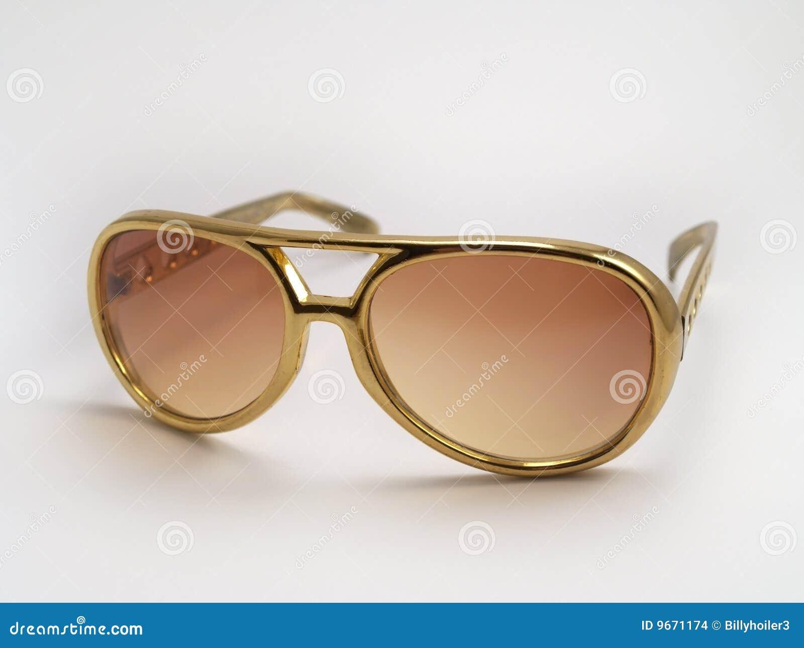 Elvis金子presley太阳镜