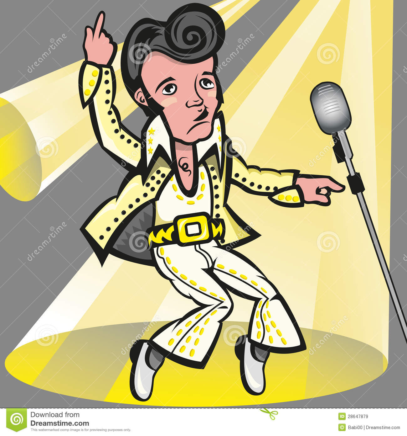 Elvis Presley Stock Illustrations – 71 Elvis Presley Stock ...