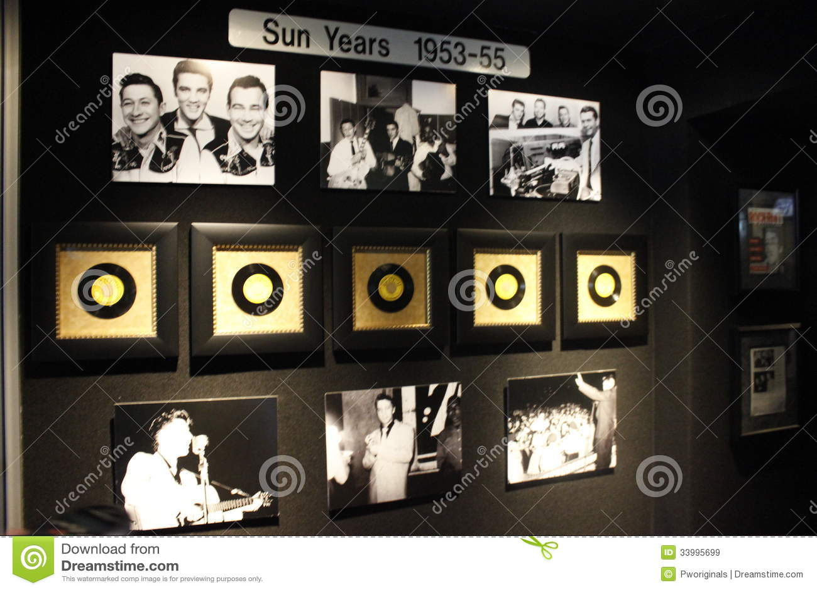 Elvis Presley Graceland słońca rok Inkasowi