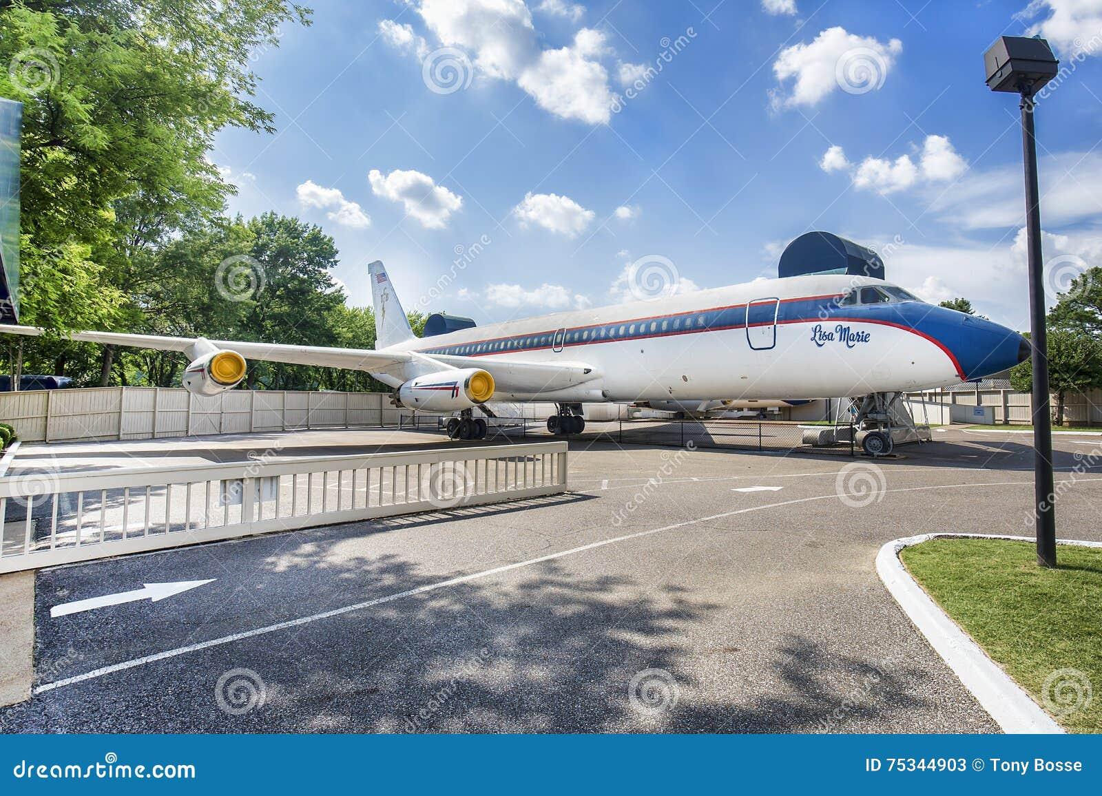 Elvis Presley Intymny samolot Lisa Maria