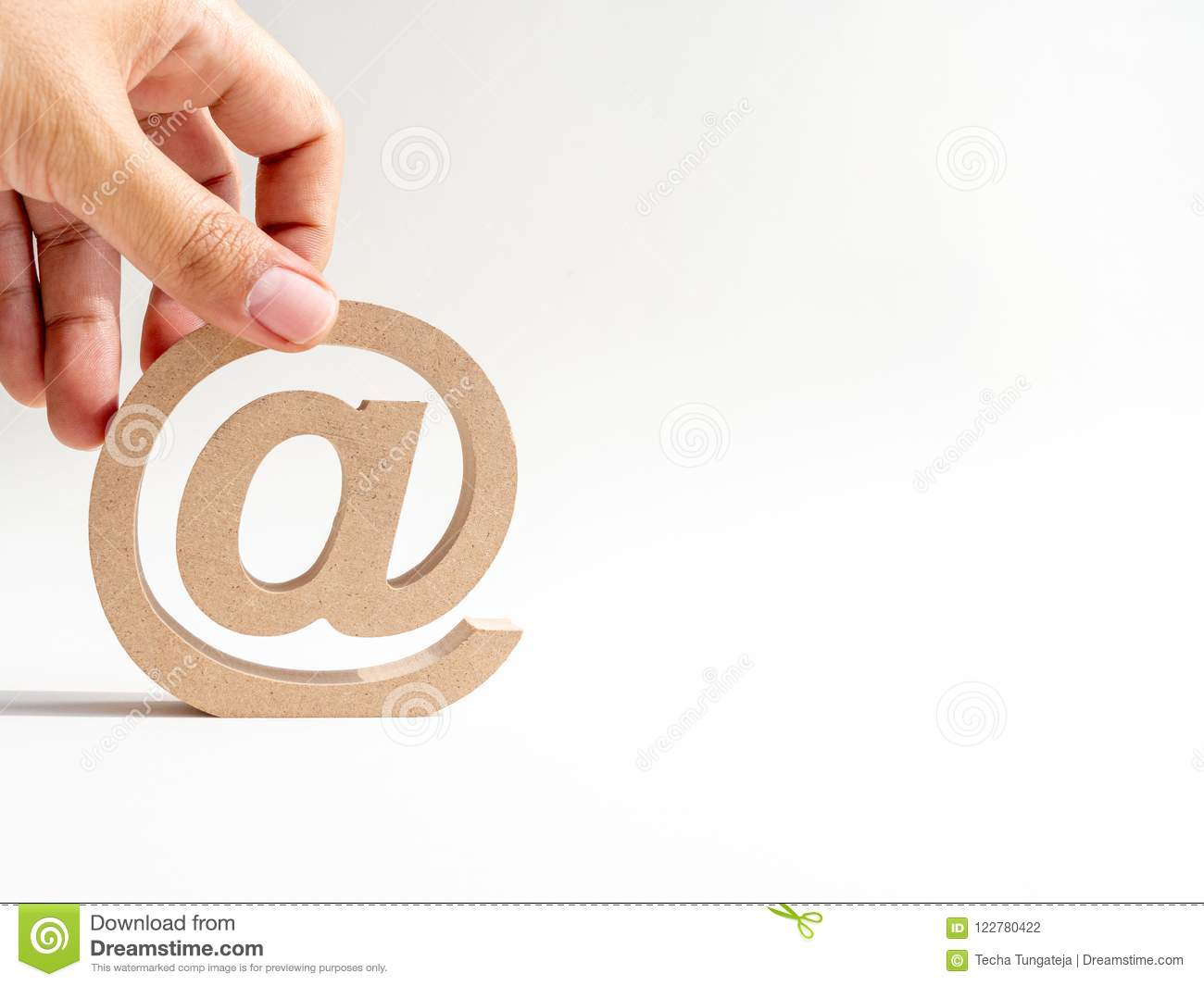 Email Address Stock Photo Image Of Business Inbox 122780422