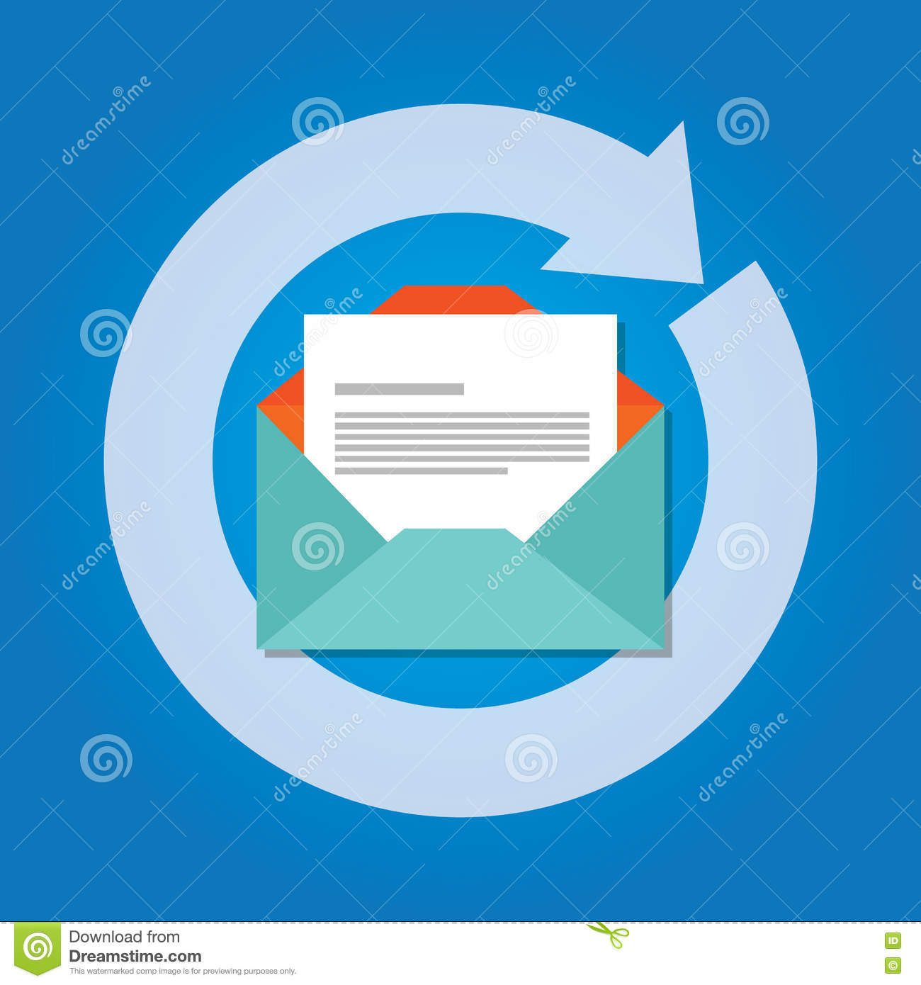 how to send back reply paid mail