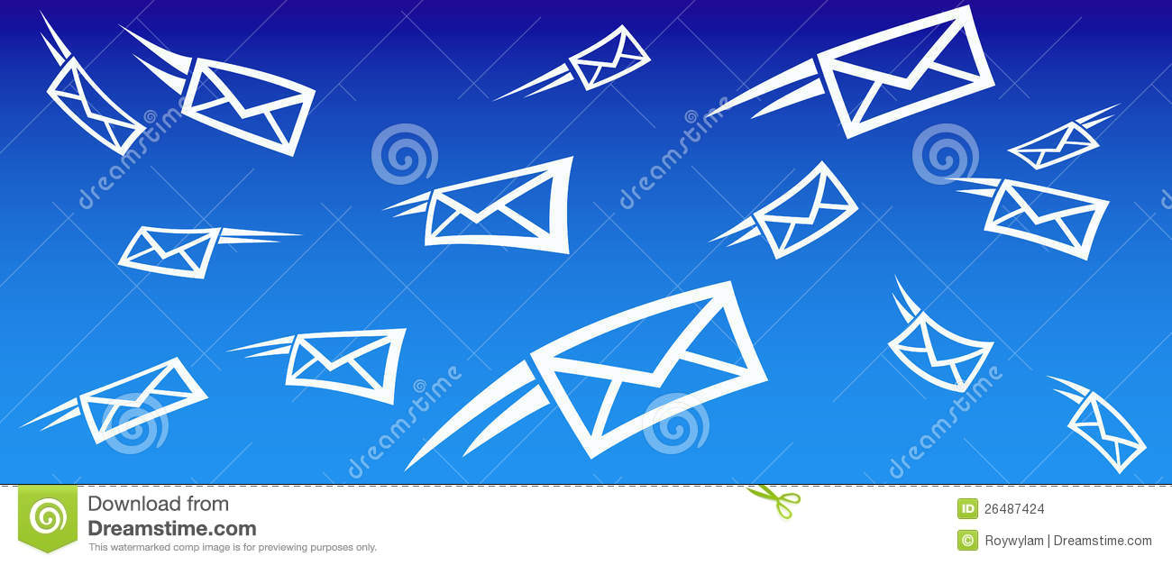 Email Background Sms Stock Images Image 26487424