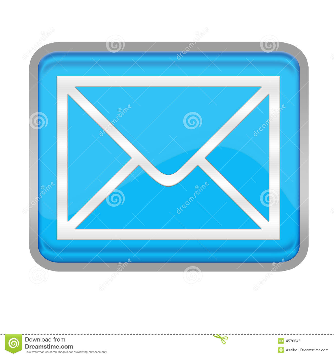 Email Button Royalty Free Stock Photo - Image: 4576345