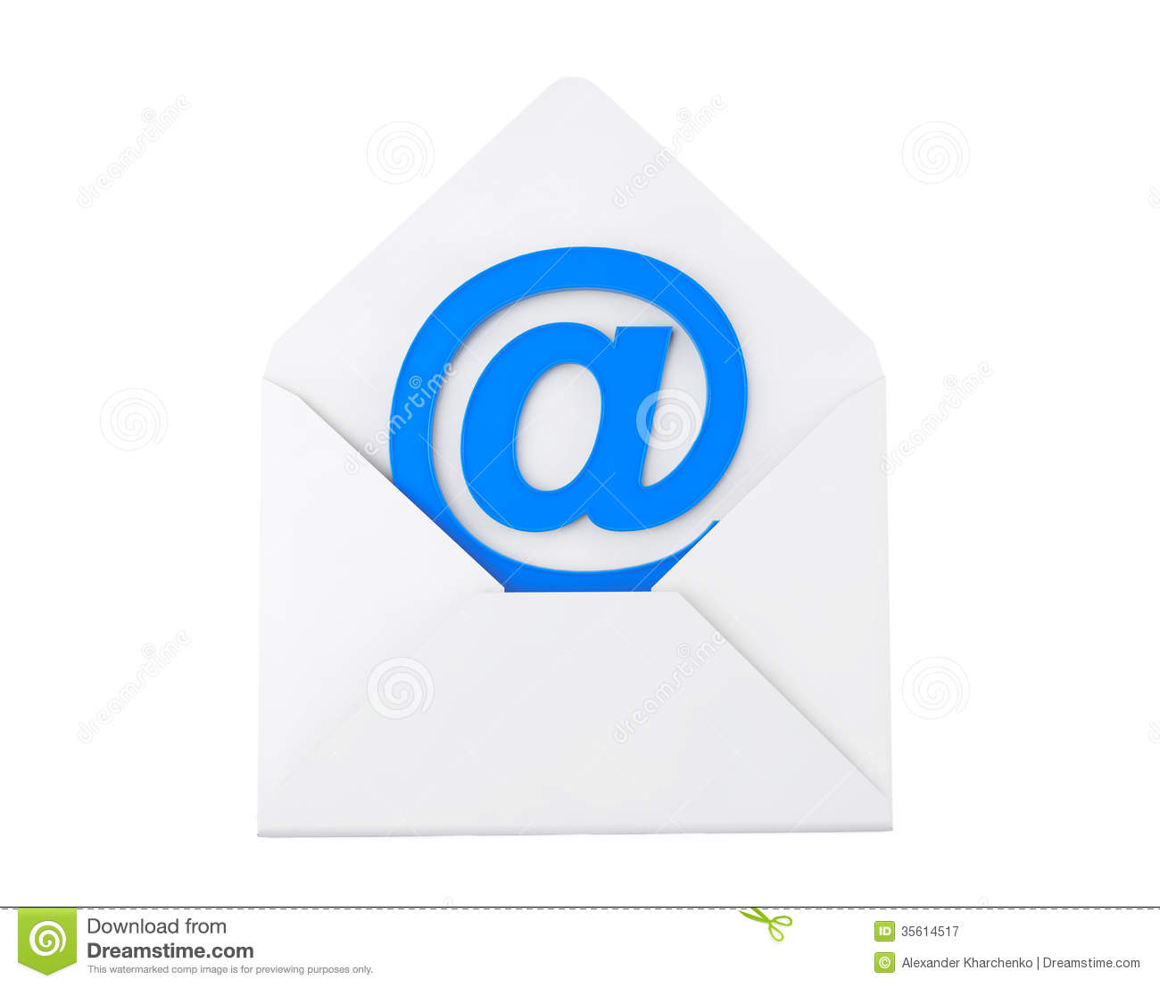 Email Concept. E-mail Sign In Envelope Royalty Free Stock ...