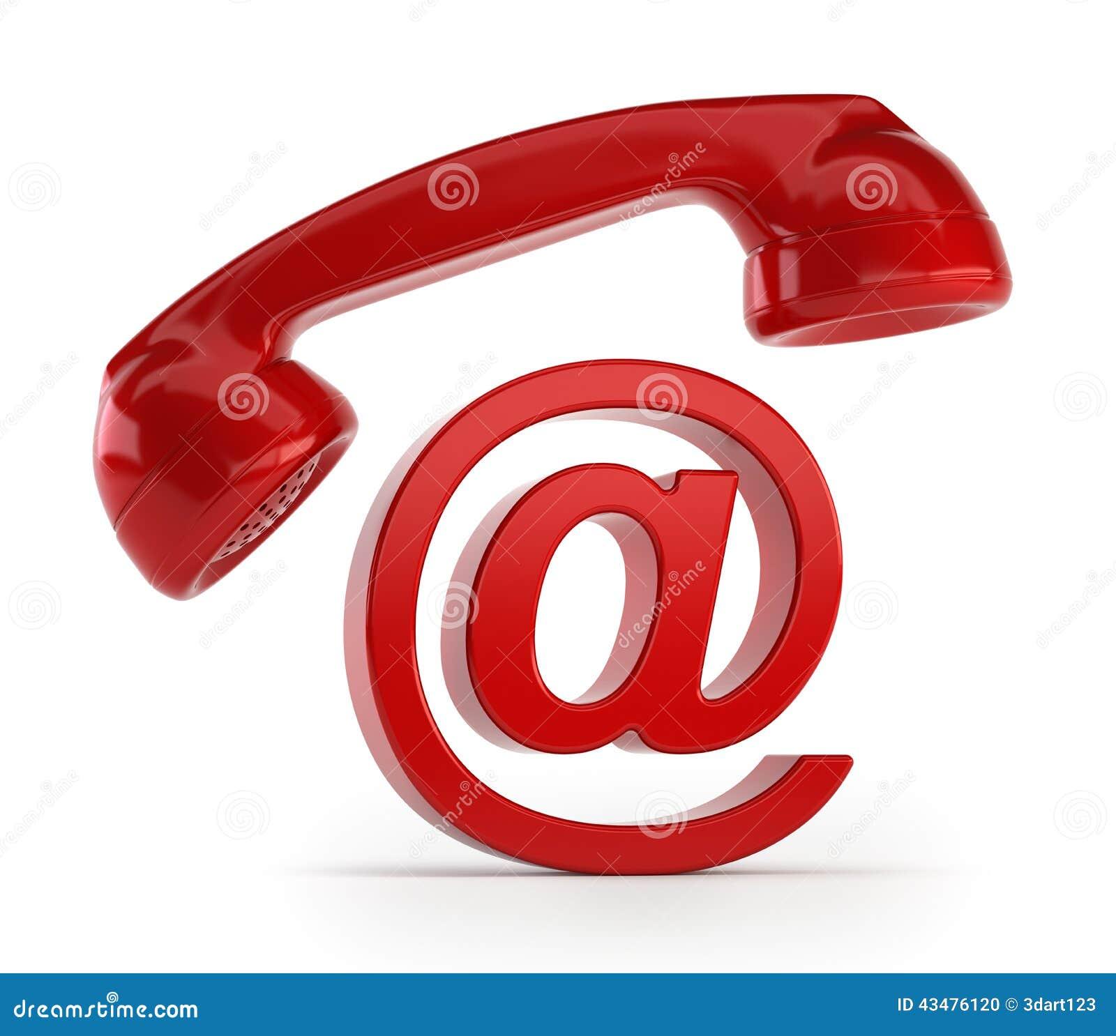 Email do telefone