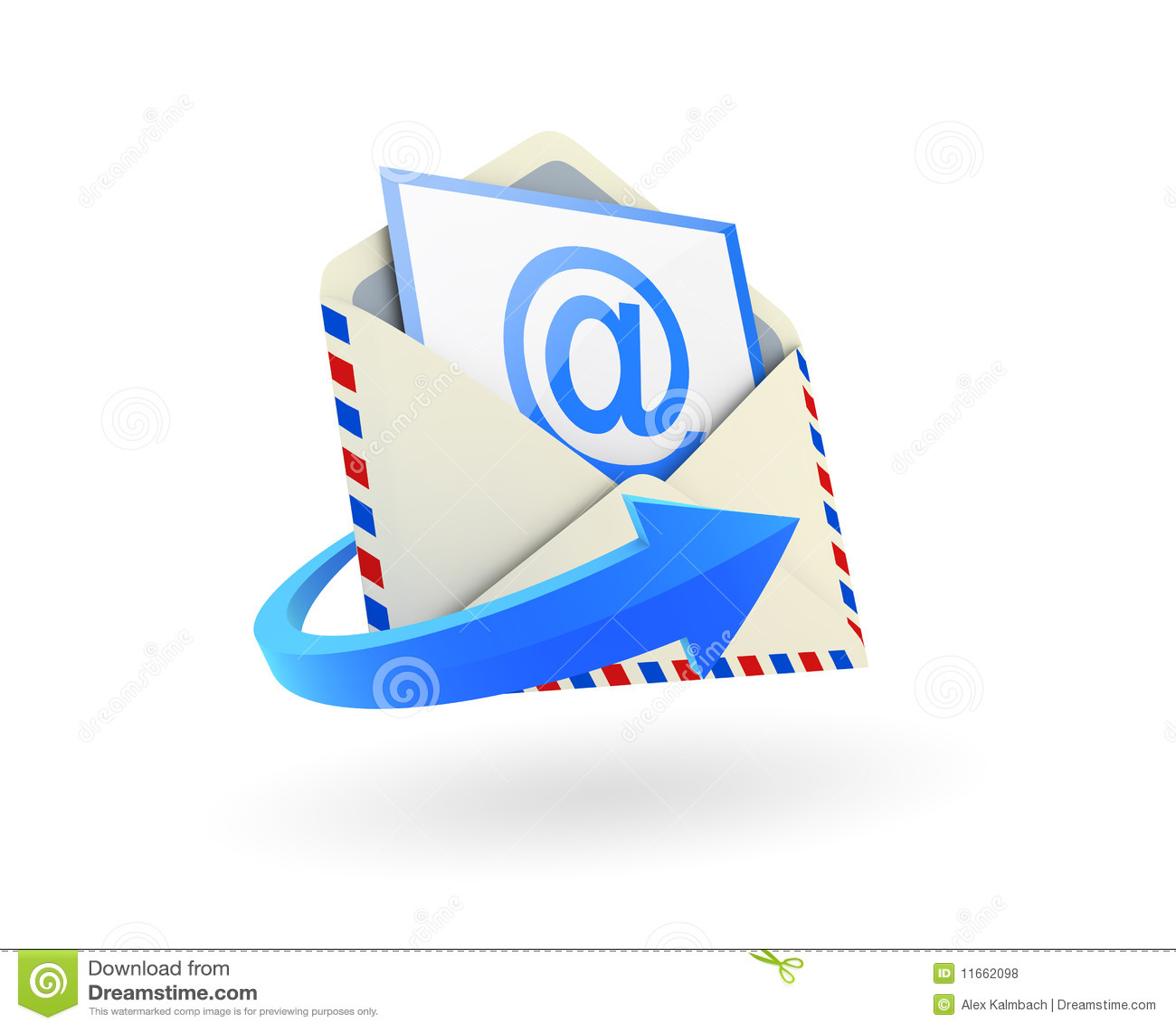 email icon stock illustration image of sign background 11662098. Black Bedroom Furniture Sets. Home Design Ideas