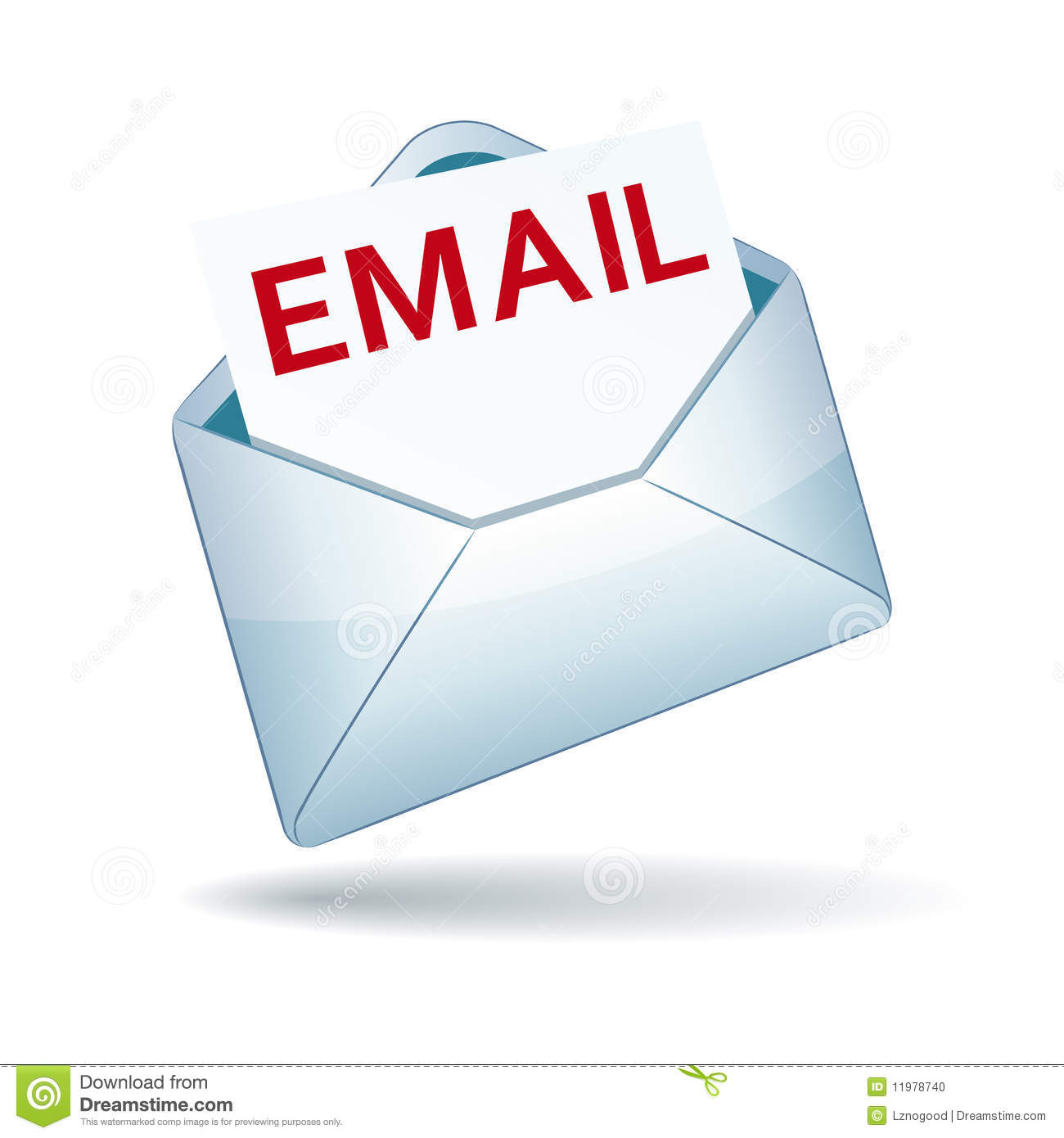 Email Icon Stock Photo - Image: 11978740
