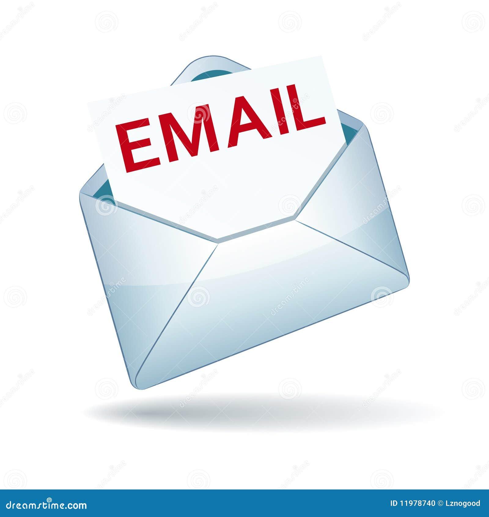email icon stock vector illustration of postage communication 11978740. Black Bedroom Furniture Sets. Home Design Ideas