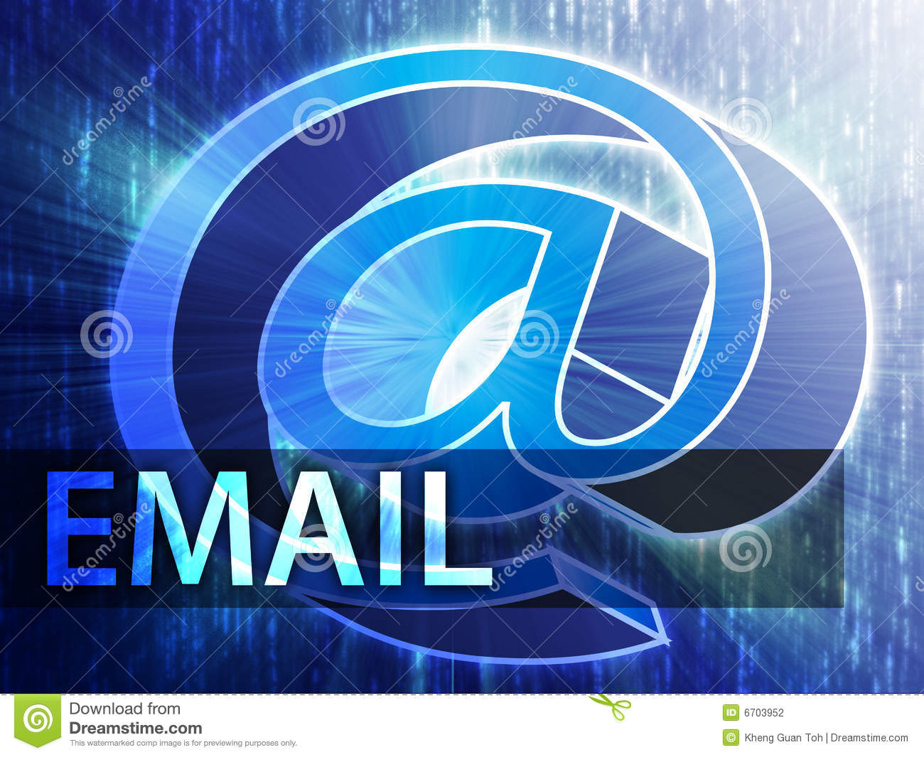 Email illustration