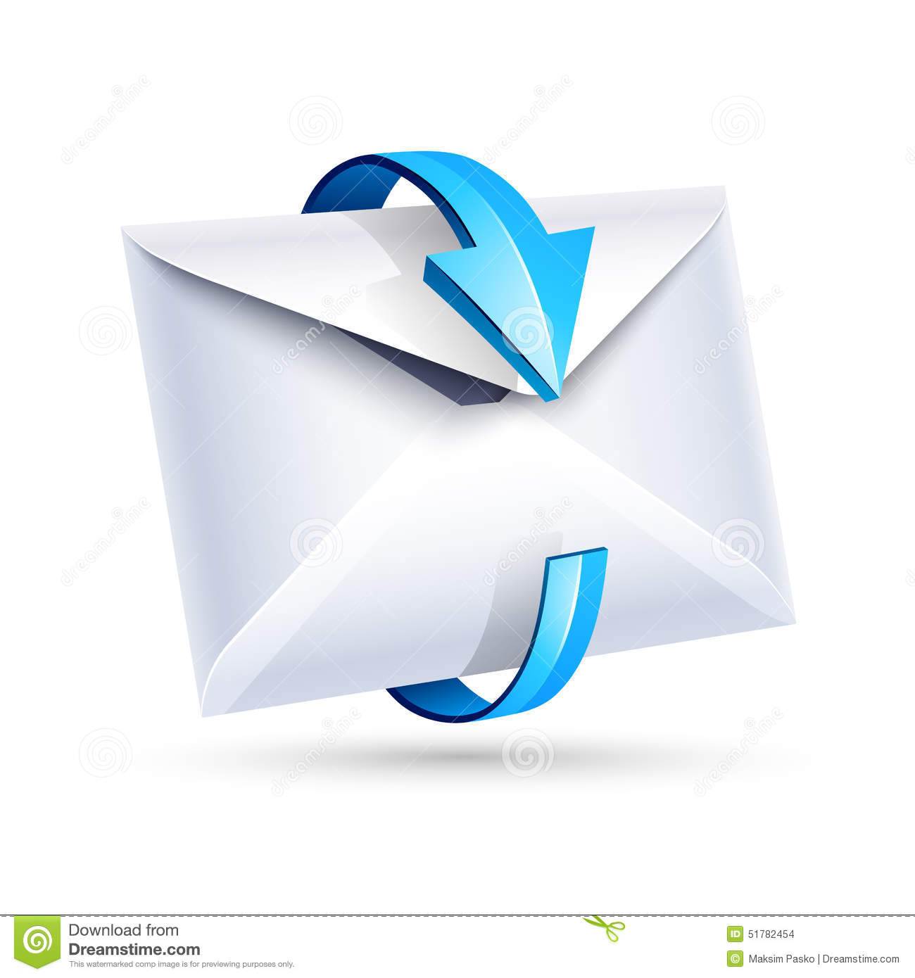 Email Letter. Vector Stock Vector - Image: 51782454