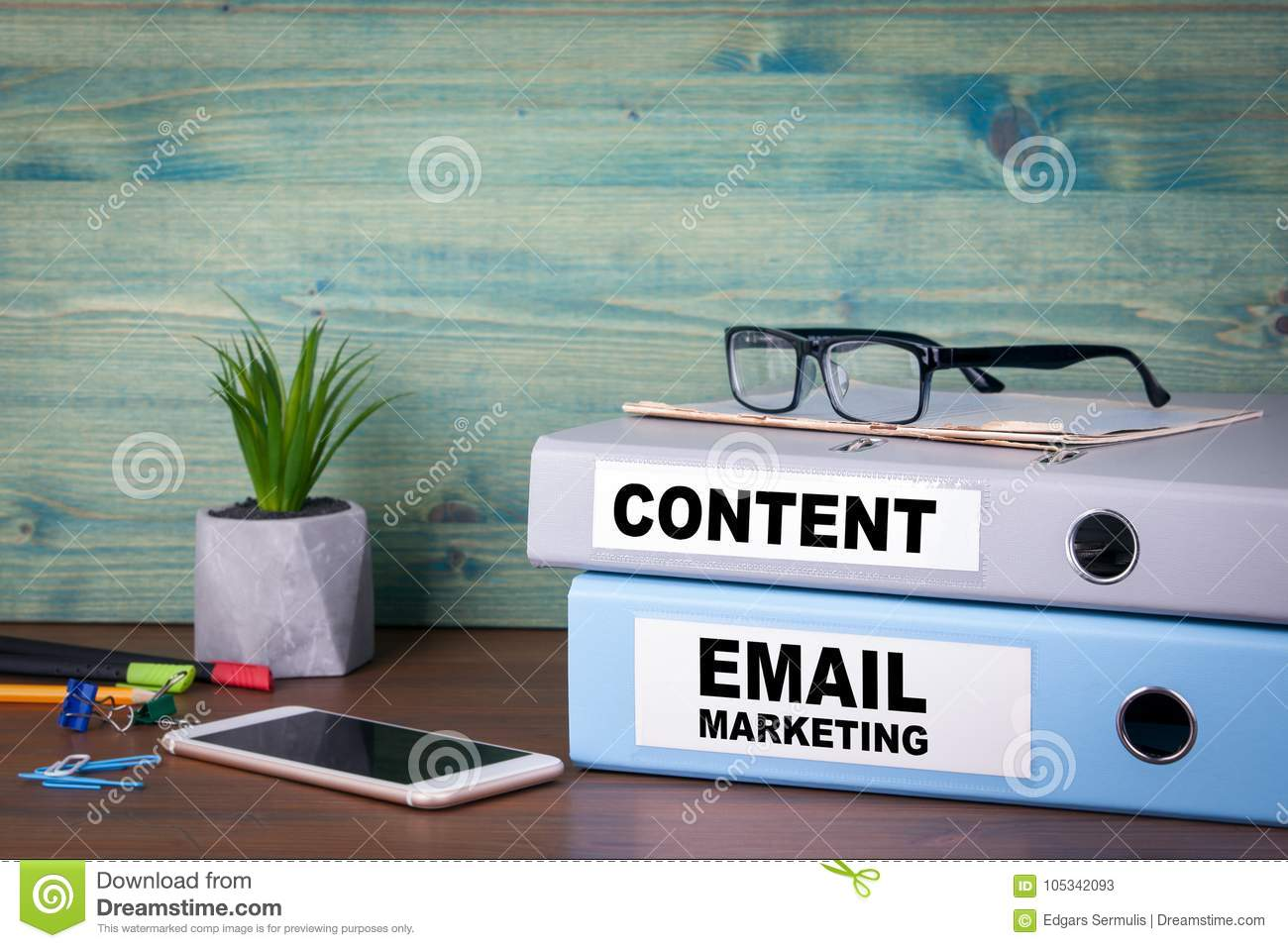 Email marketing and content. Successful business, advertising and social networking information