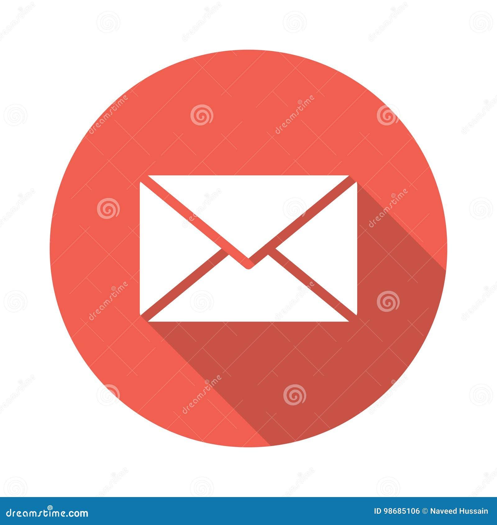 Email odkrywa ikony poczta otwartego dostawanie