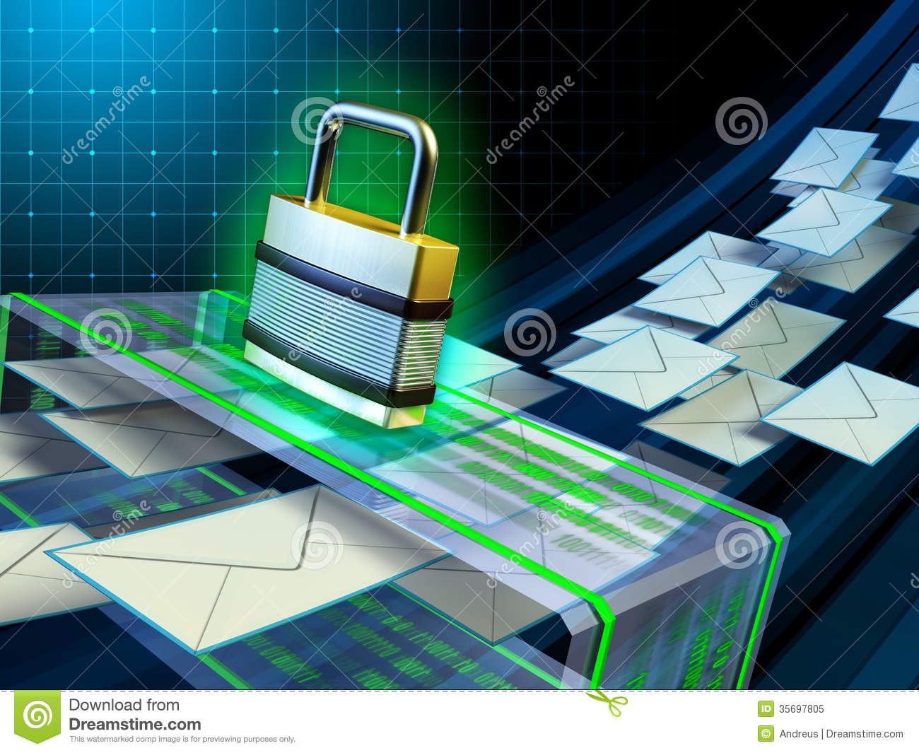 Email Security Royalty Free Stock Photo - Image: 35697805