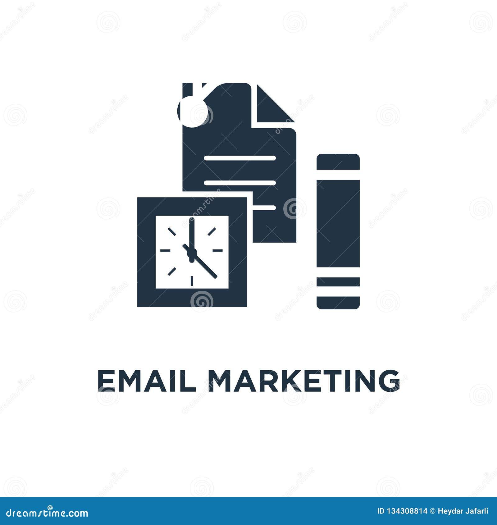 Email strategii marketingowej ikona gazetka, cyber przestępstwo, spam szturmowa ochrona, oszustwo technologii pojęcia symbolu pro
