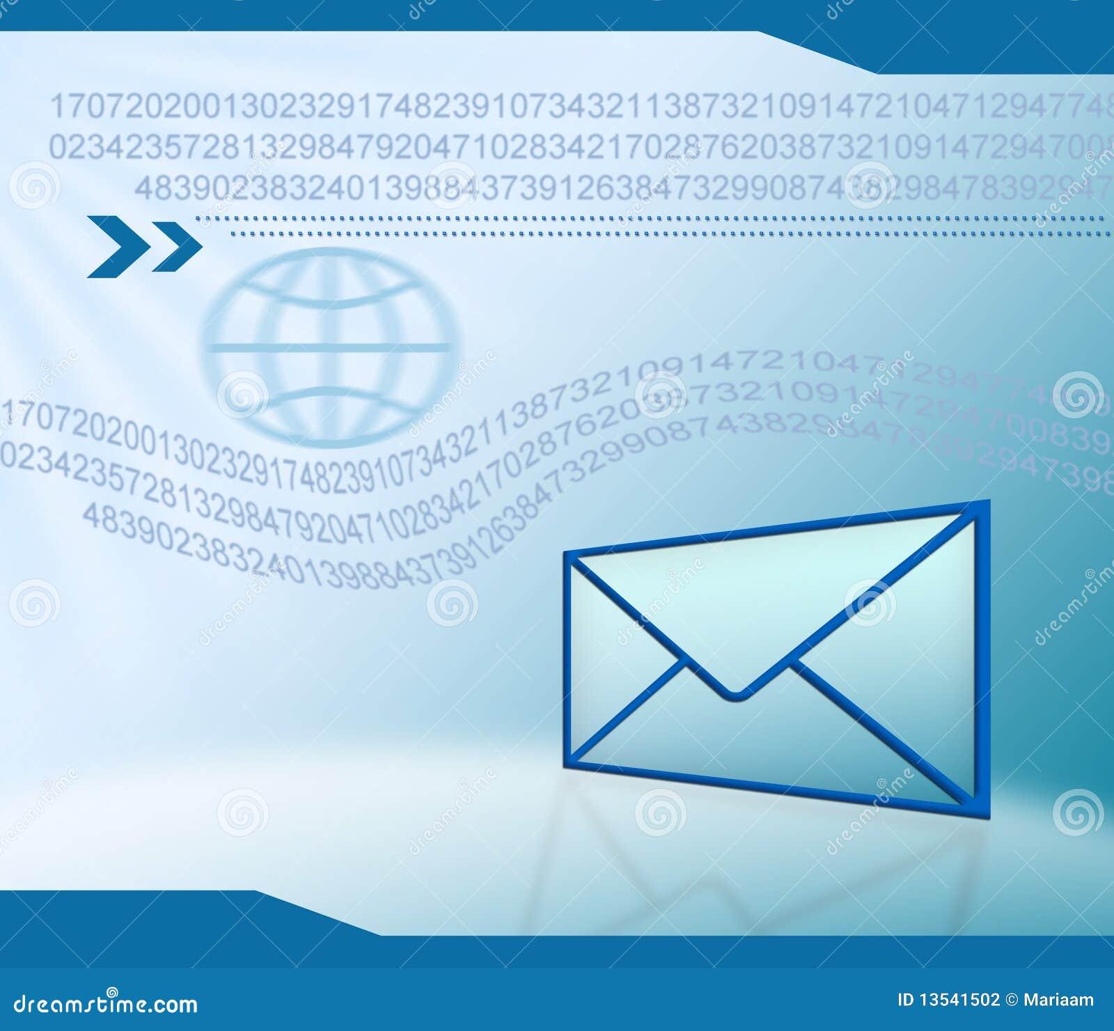 Email Technology Background Stock Illustration Illustration Of
