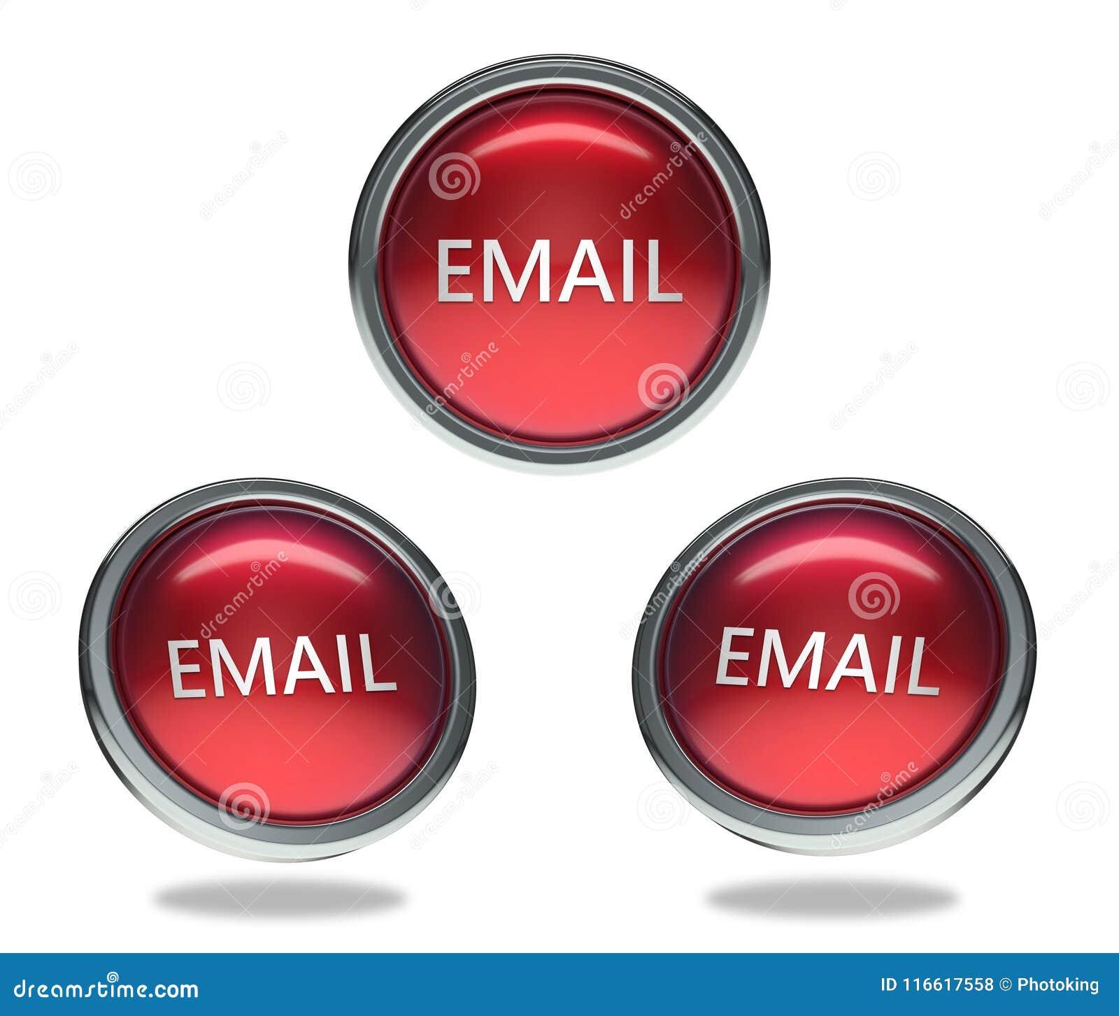 Emaila szklany guzik