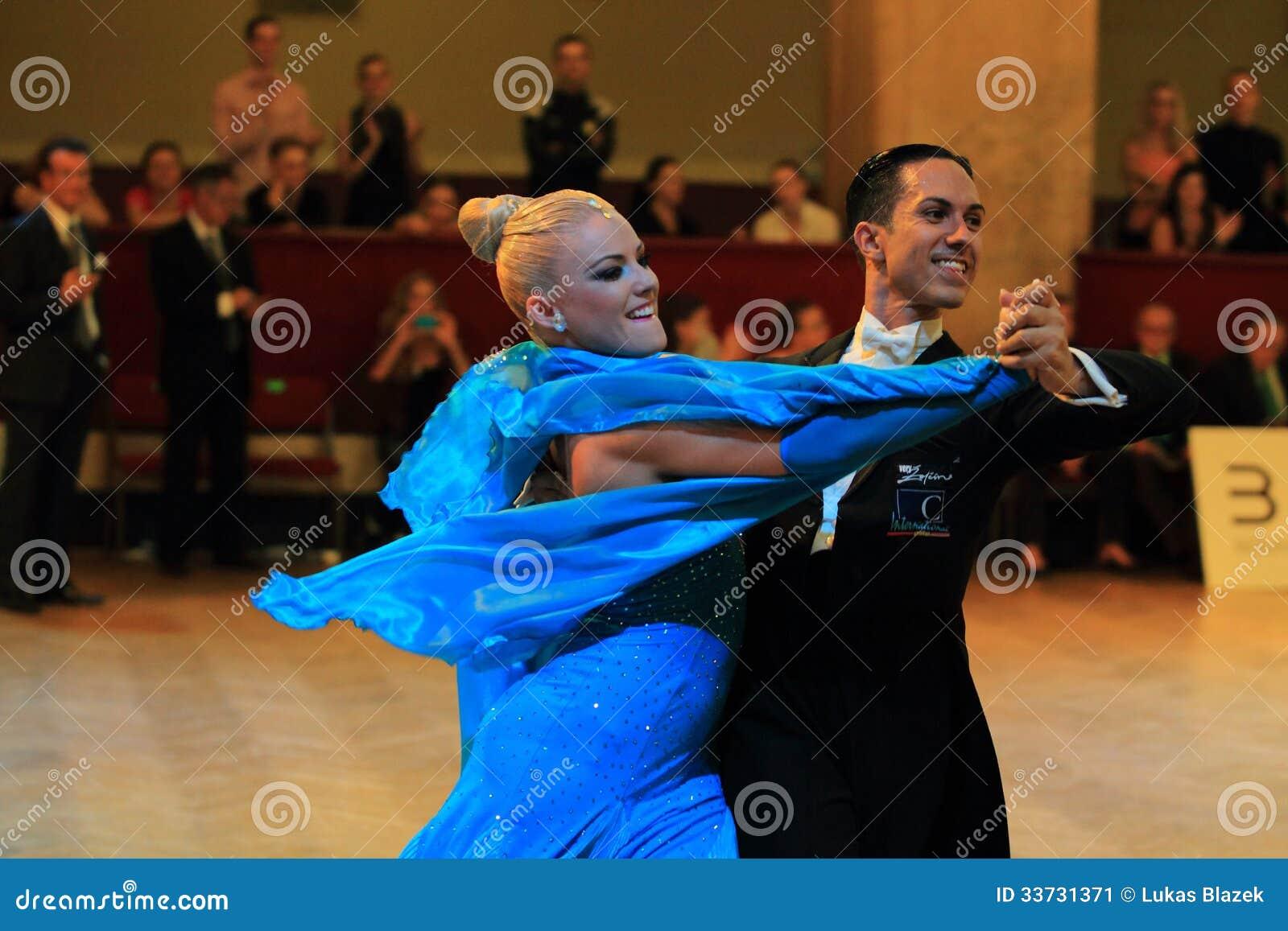 Emanuel Valeri и Tania Kehlet - бальные танцы