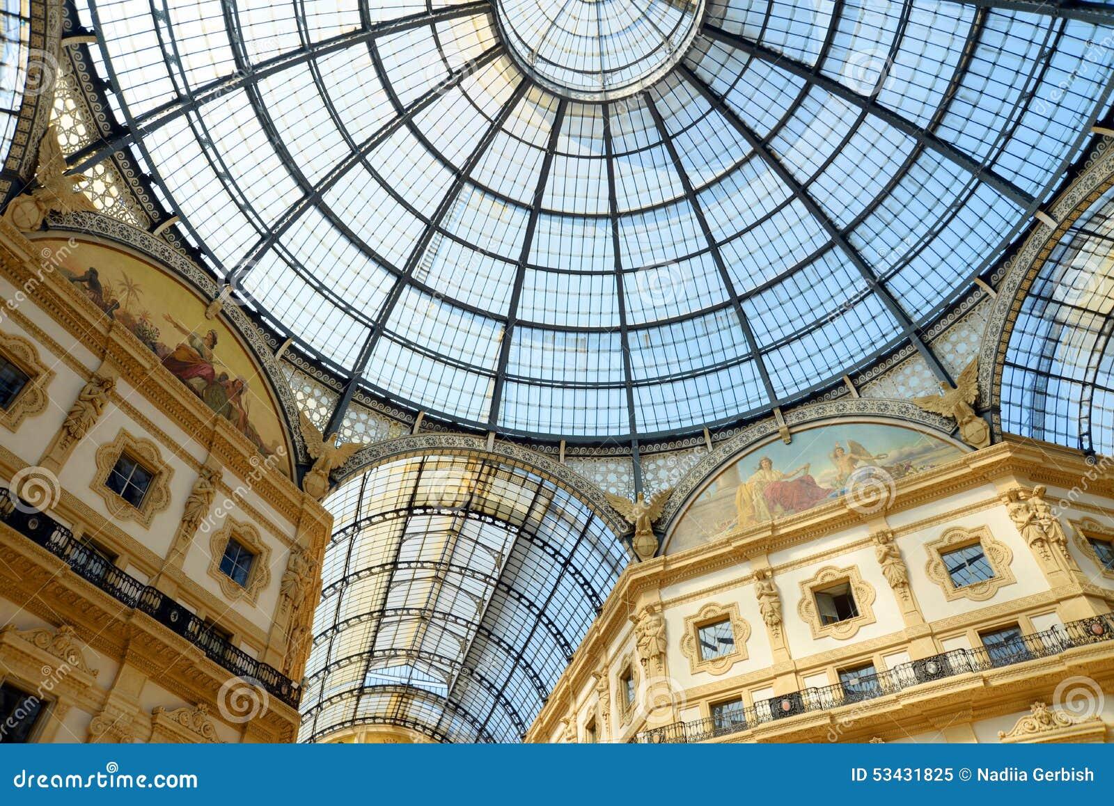Emanuele galerii ii Milan vittorio