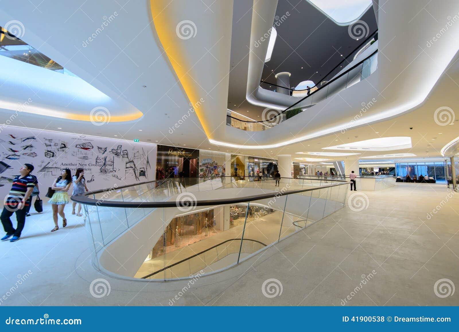 Embajada central es un centro comercial, Pattana central poseído