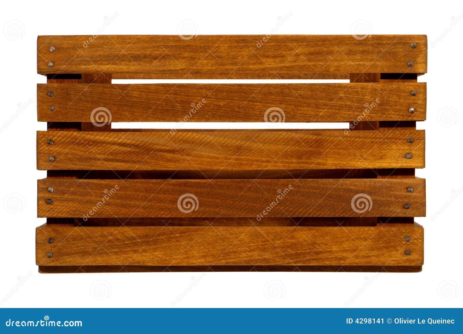 Embalaje de madera viejo