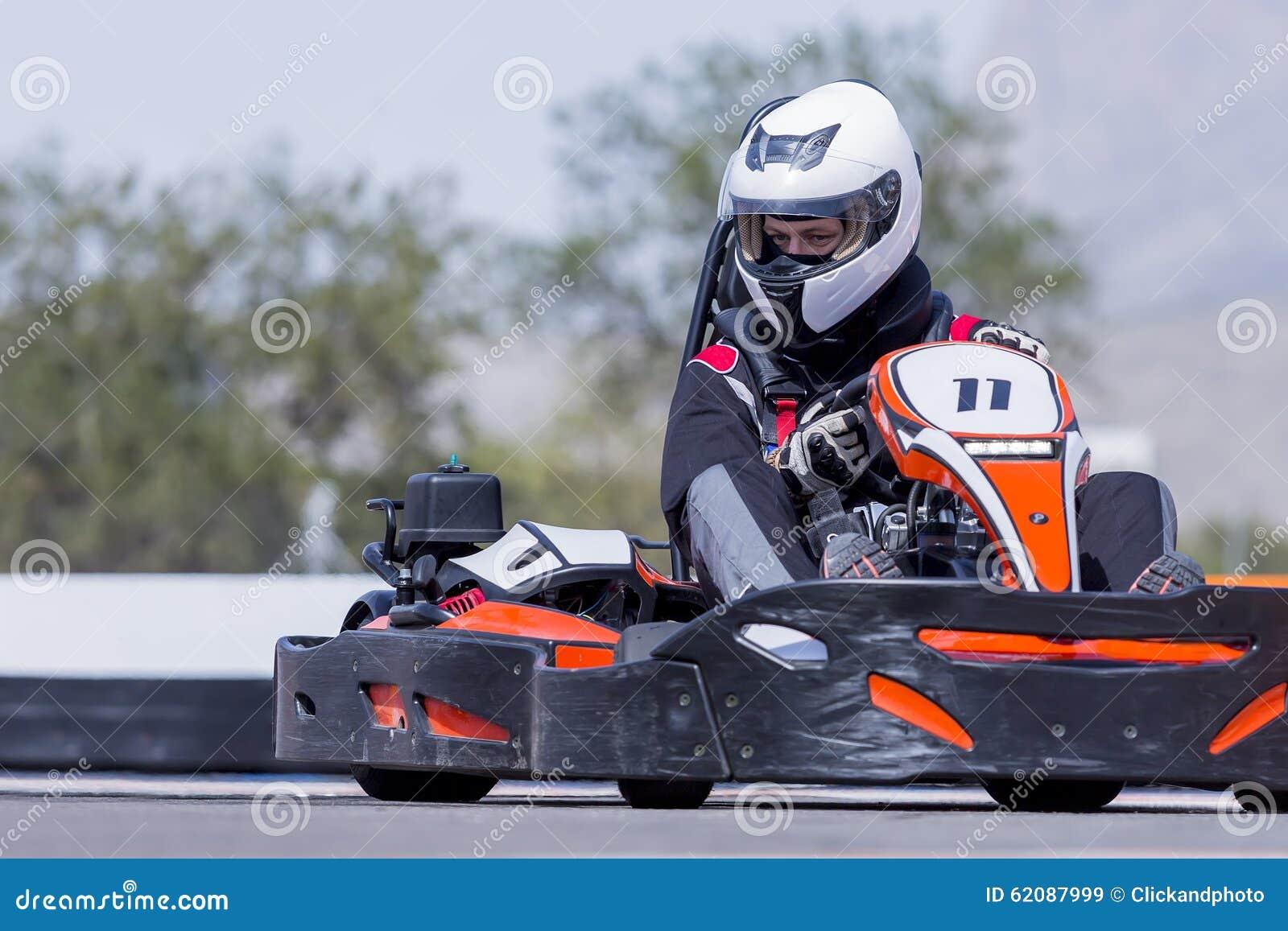 Emballage de pilote de kart