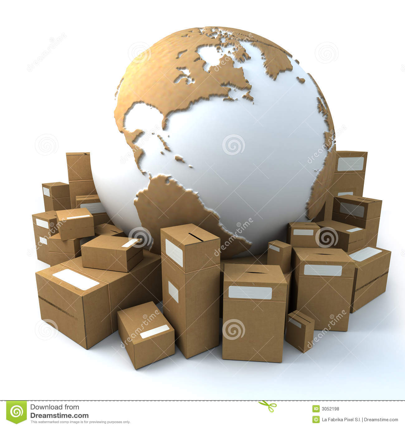 Emballerad värld