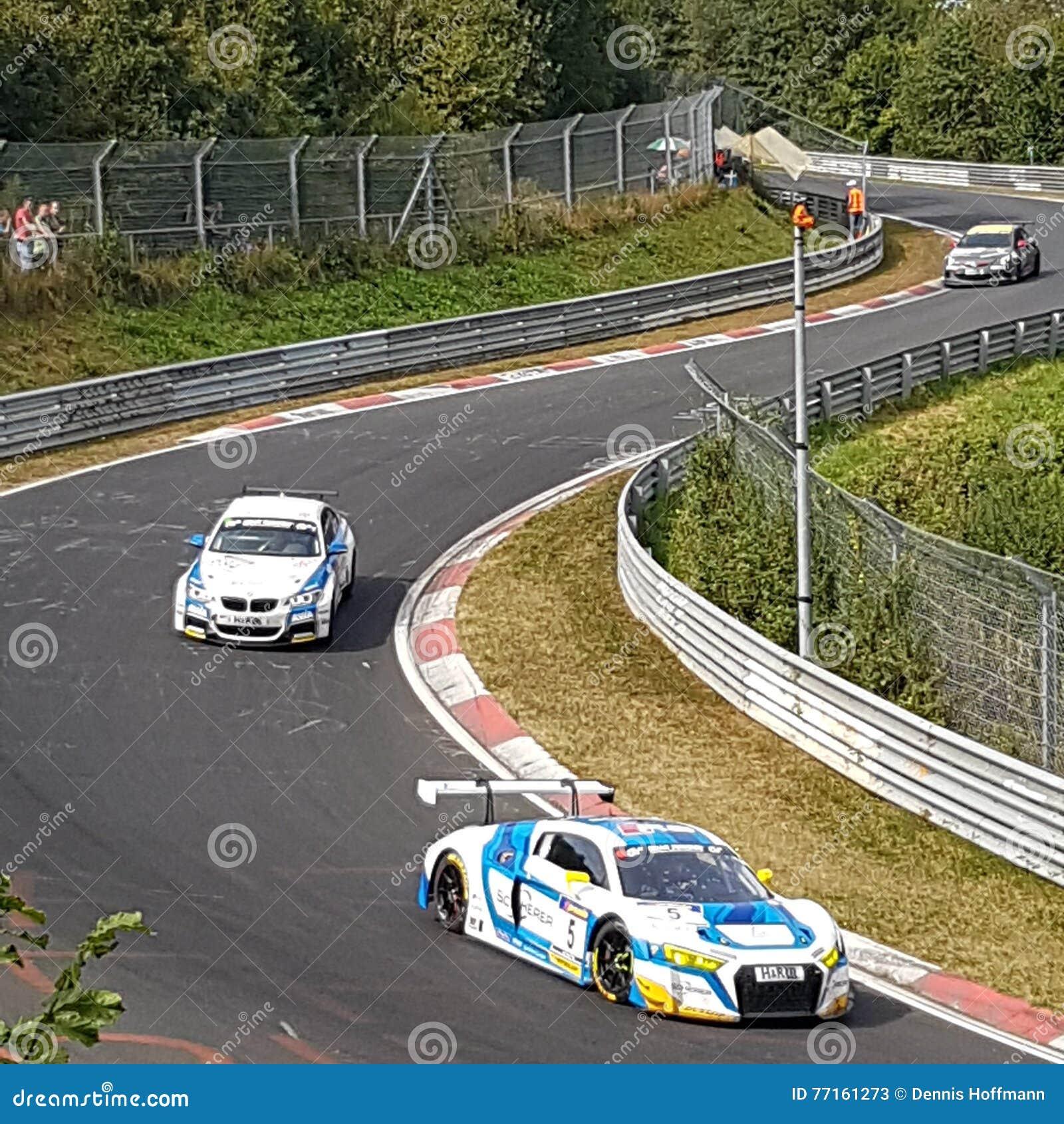 Emballez au ¼ de Nordschleife NÃ rburgring à wehrseifen