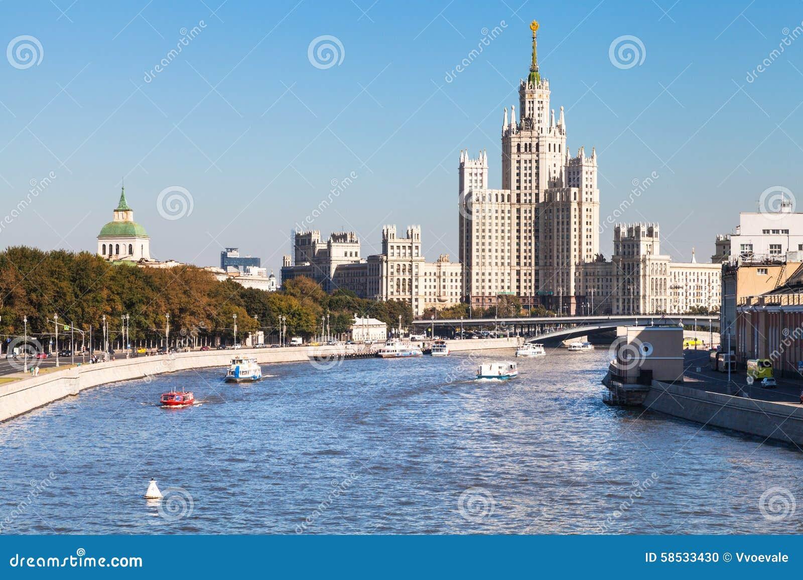 Moscow embankments 50