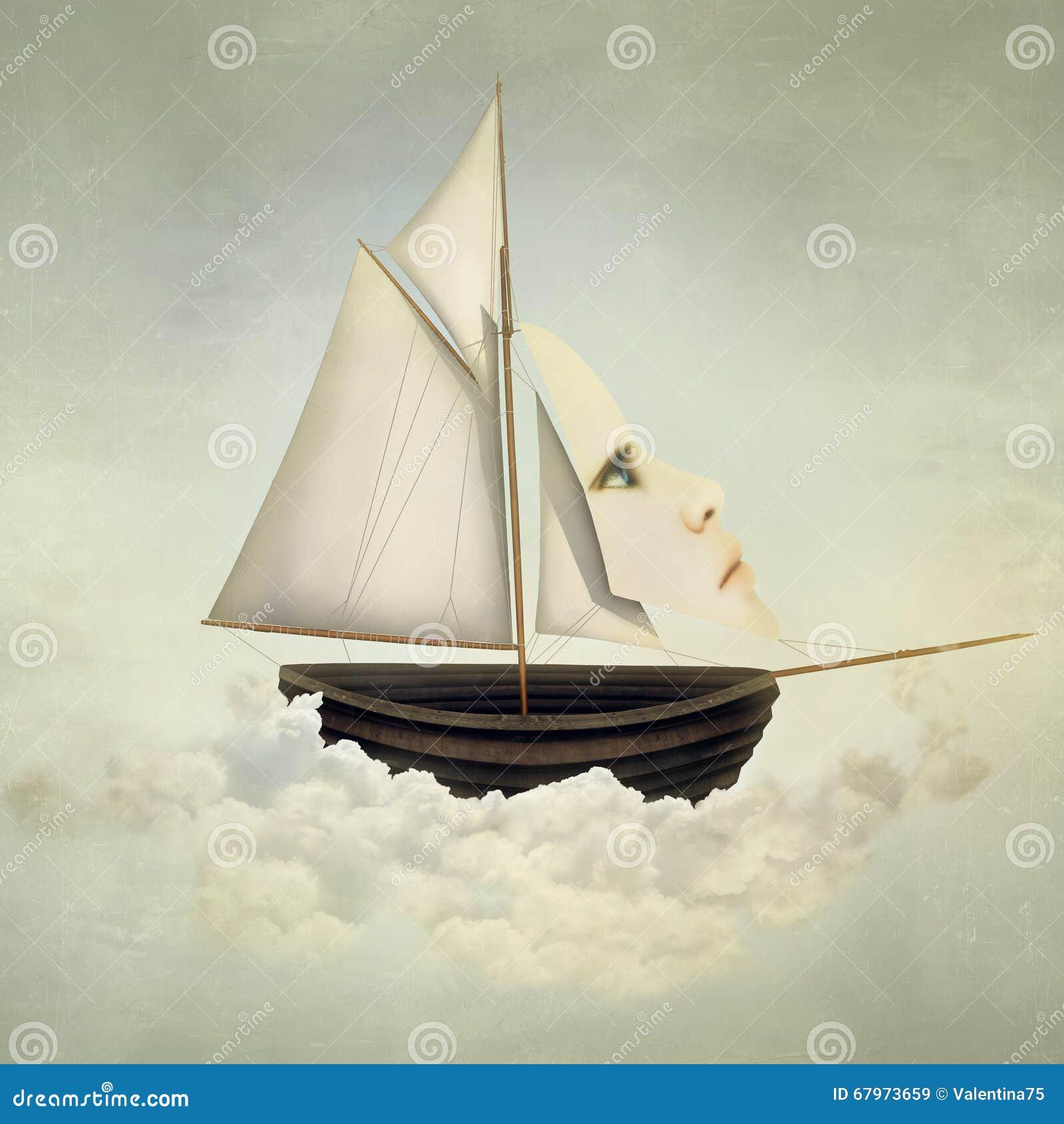 Embarcação surreal