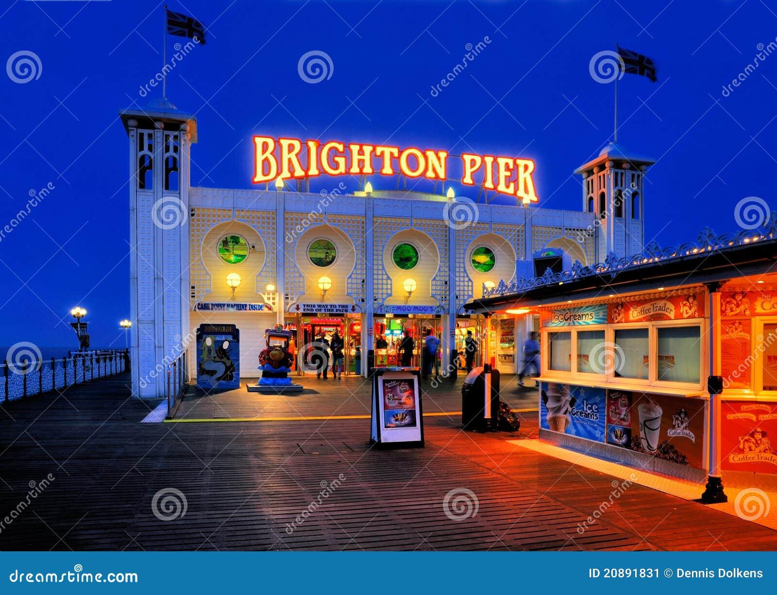 Embarcadero de Brighton, Inglaterra