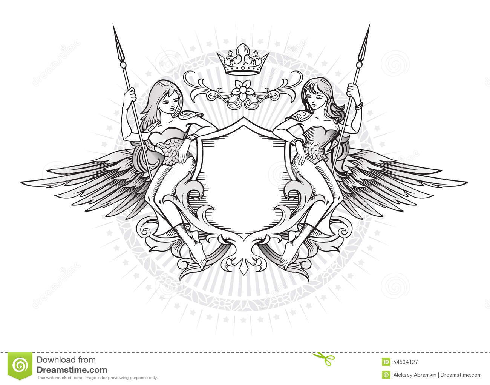 Emblème à ailes