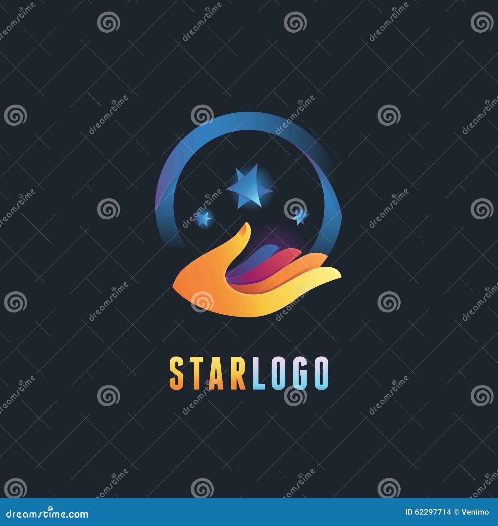 Emblème de vecteur et calibre abstraits de conception de logo