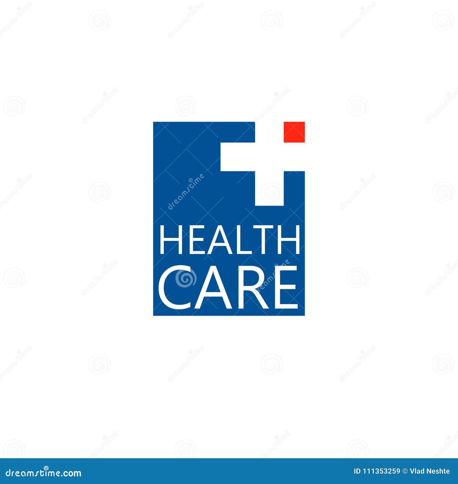 Embleemkruis Embleem voor de kliniek, farmaceutisch bedrijf Medisch bureau Vector, die op Witte Achtergrond wordt geïsoleerd