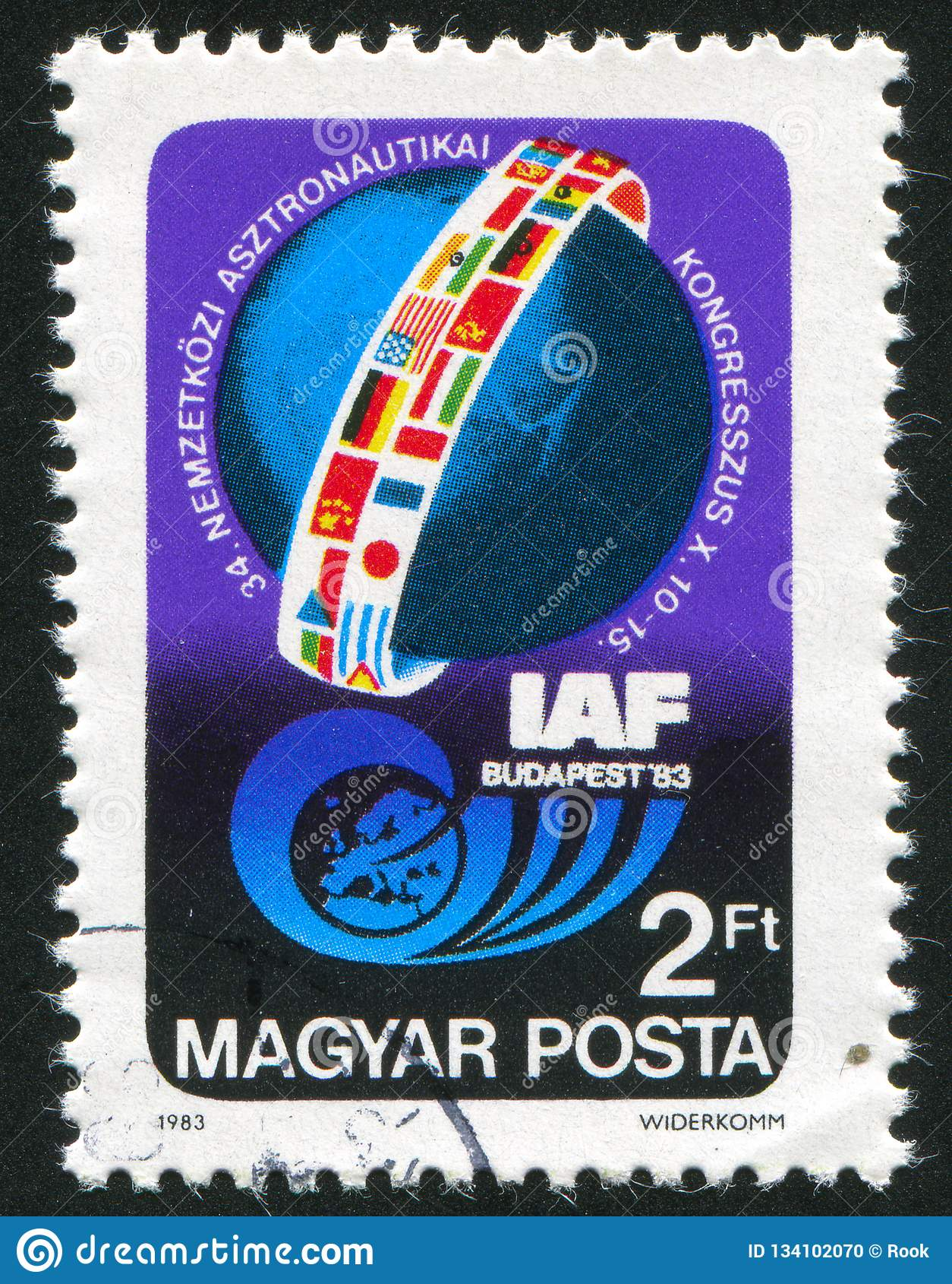 Emblem av den Astronautical federationkongressen