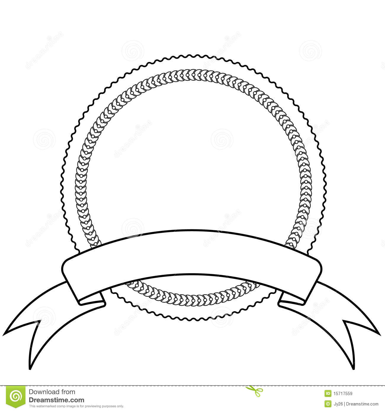 Emblem And Banner Template Stock Vector Illustration Of Accent