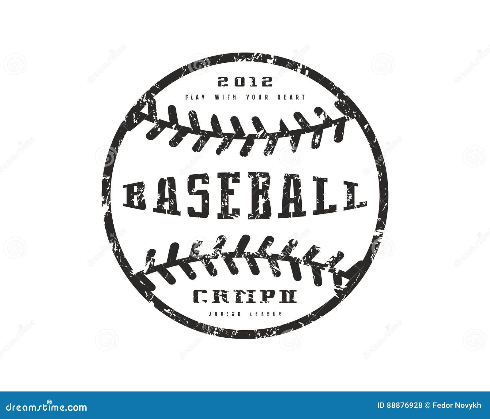 Design t shirt baseball - Baseball Championship Design Emblem Graphic Print Shirt