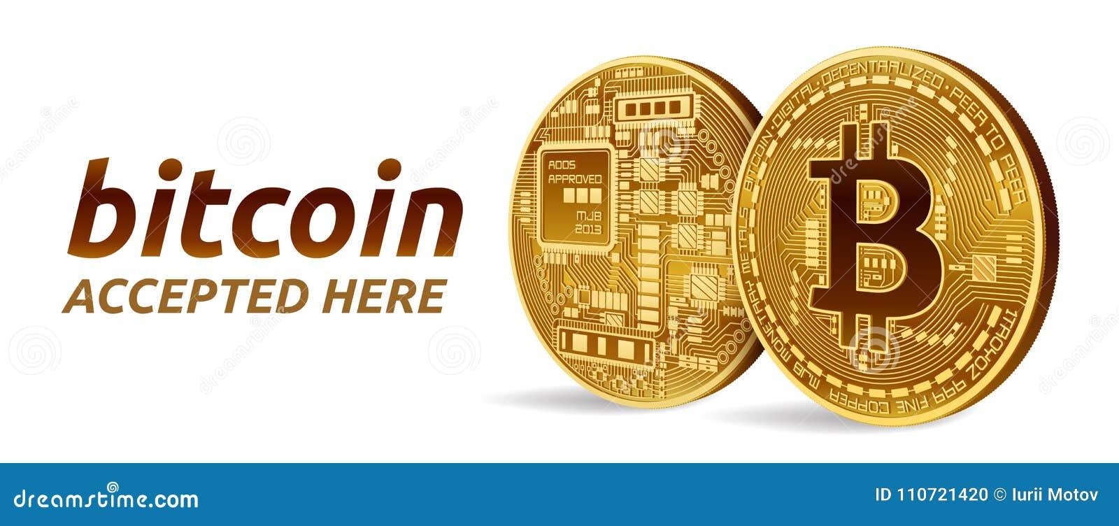 bitcoin ha accettato qui