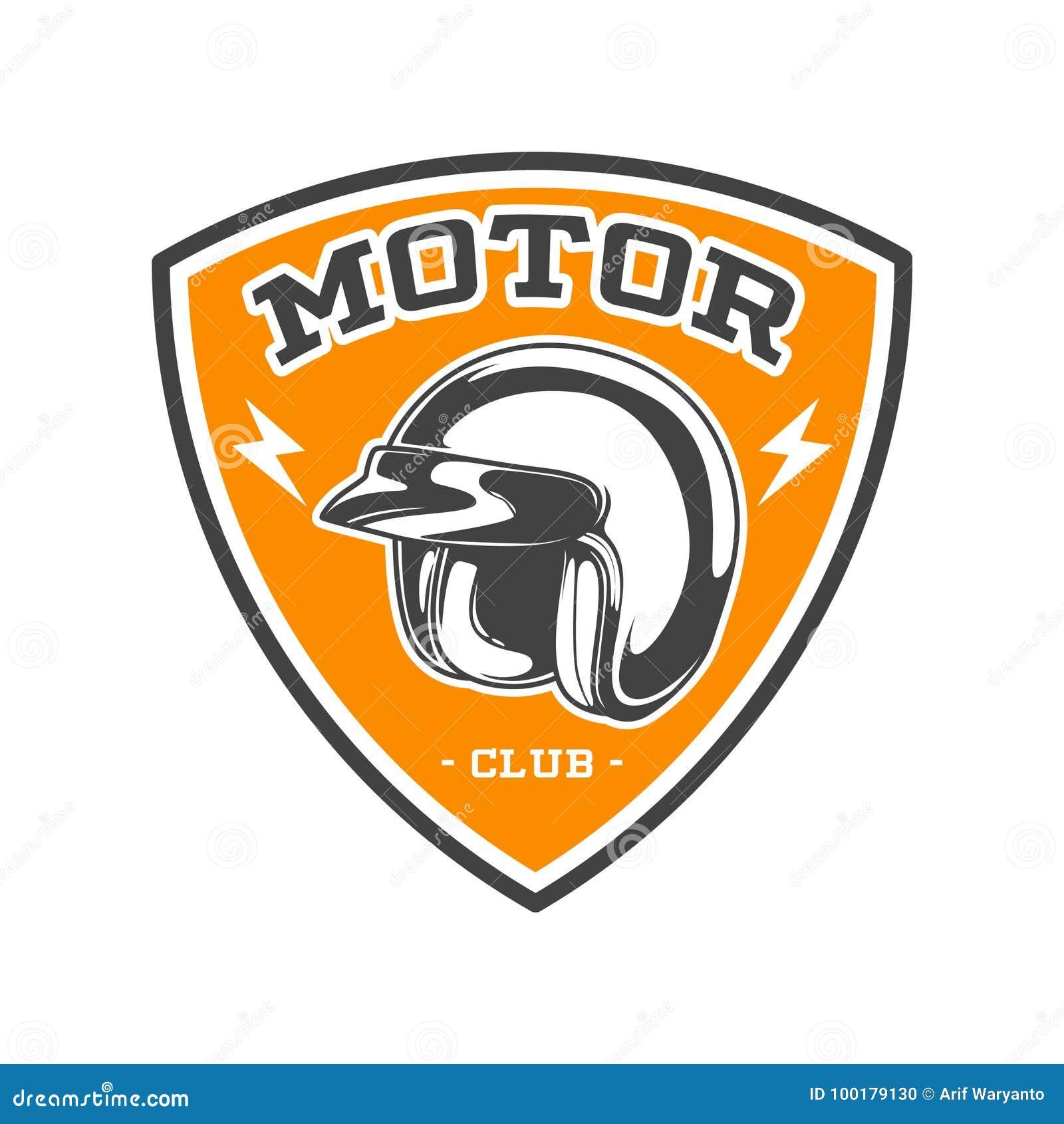 EMBLEMA BICOLOR DEL CLUB DEL MOTOR