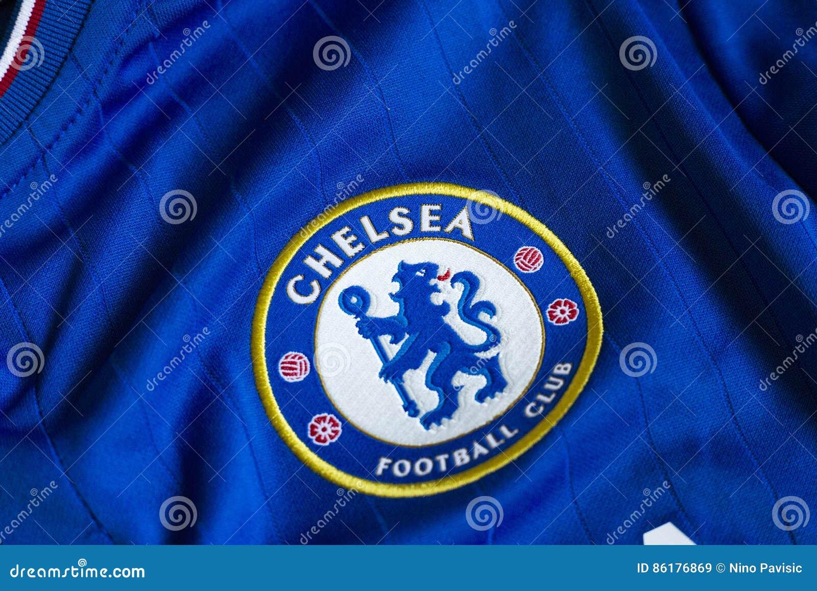 Emblema De Chelsea Imagem De Stock Editorial Imagem De Inglês